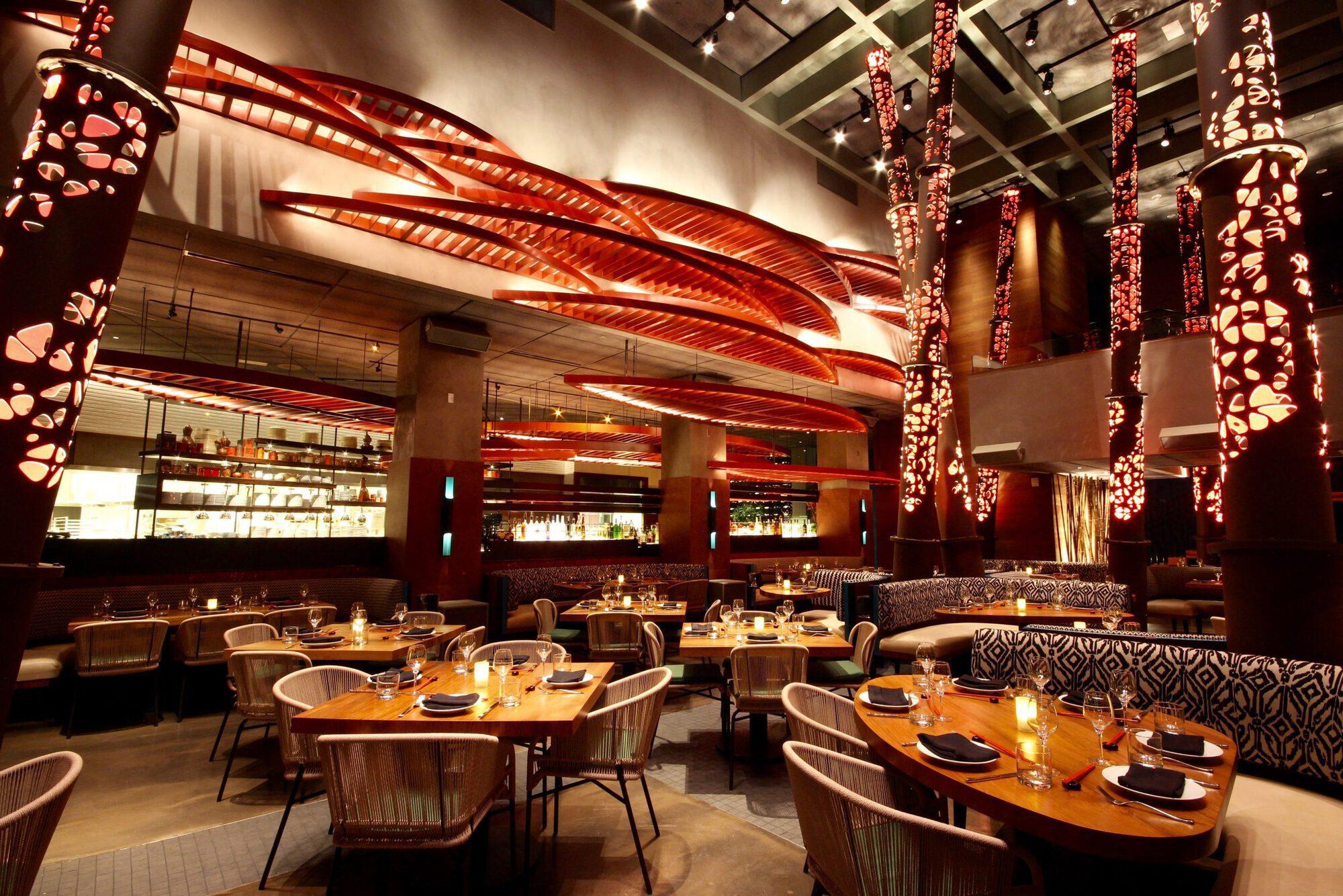 Beautiful restaurant designs that meet… smoke fire